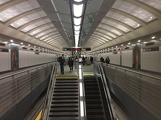 86th Street (Second Avenue Subway) - Mezzanine