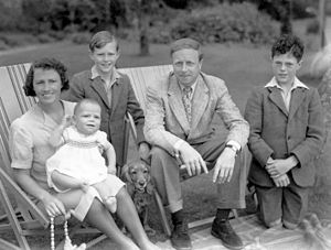 A. J. Cronin - Cronin with family in 1938