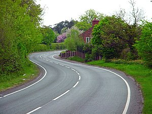 A488 road - A488 in Edgebold