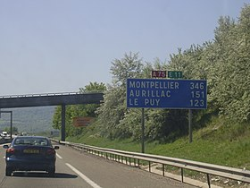 Image illustrative de l'article Autoroute A75 (France)