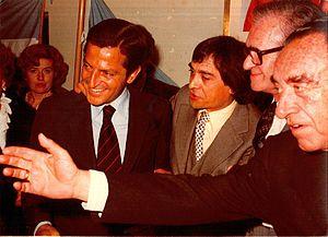 Adolfo Suárez - Former Prime Minister Adolfo Suárez went to Buenos Aires (Argentina) in 1981.