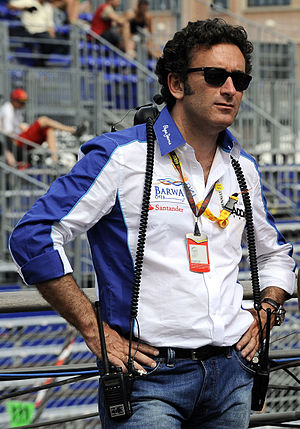 2016 Hong Kong ePrix - Alejandro Agag (pictured in 2009) publicly announced the Hong Kong ePrix in October 2015.
