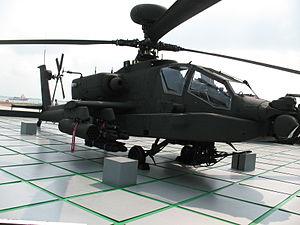 An AH-64D Apache Longbow