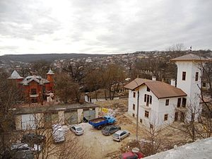 Hîncești - Image: AIRM Restoration of mansion of Manuc Bei feb 2015 05