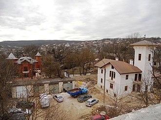 Hîncești - Image: AIRM Restoration of mansion of Manuc Bei feb 2015 05
