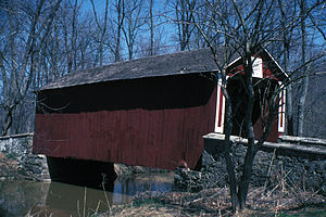 Ashland Covered Bridge - Bridge in 1982