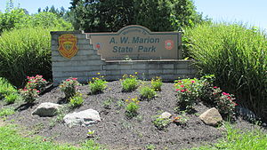 A. W. Marion State Park - Image: AWM1