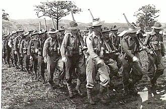 15th Brigade (Australia) - 58th/59th Battalion in the Ramu Valley