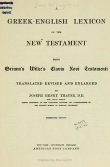 A Greek English Lexicon of the New Testament.djvu