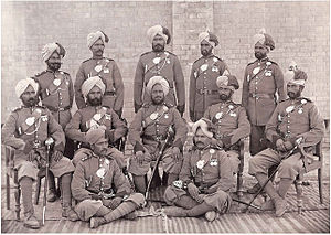 52nd Sikhs (Frontier Force) - Image: A Group of Soldiers 52nd Sikh Regiment