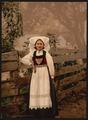 A Hardanger girl, Hardanger Fjord, Norway-LCCN2001699480.tif