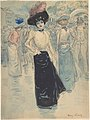 A Parisienne on a Crowded Street MET DP808375.jpg