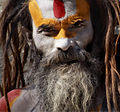 A Sadhu from PashupatiNath, Kathmandu; in the morning.jpg
