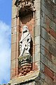 A carved figure on Melrose Abbey - geograph.org.uk - 781609.jpg