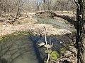 A dry creekbed at rock Creek Crossing in Council Grove, KS (eba9c2c499864a1f8d53a4288a103f27).JPG