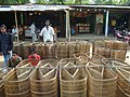 A fishing trap market in Sylhet, Bangladesh.JPG