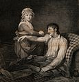 A frail and wounded soldier being saved from death by the Wellcome V0015784.jpg