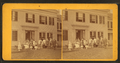 A group in front of a wood frame home or hotel, Brattleboro, Vt, from Robert N. Dennis collection of stereoscopic views.png