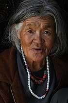 A local woman, Ladakh