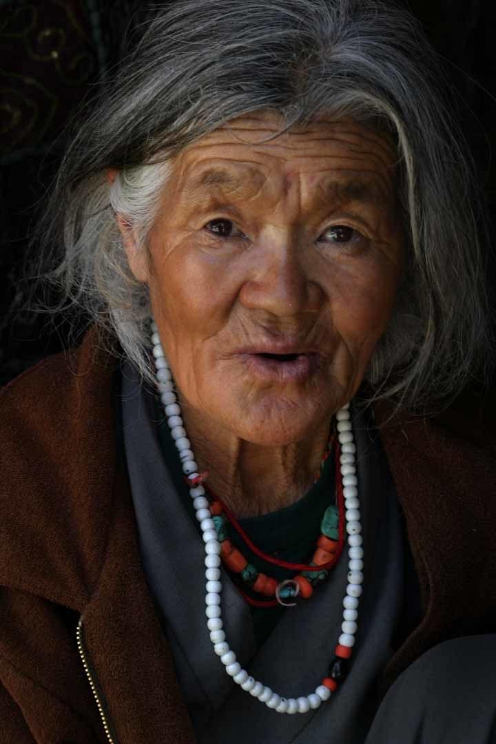A local woman, Ladakh