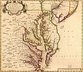 A new map of Virginia, Maryland and the improved parts of Pennsylvania & New Jersey. LOC 2007625604 (cropped).jpg