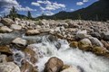 A raging stream in Rocky Mountain National Park in the Front Range of the spectacular and high Rockies in north-central Colorado LCCN2015633343.tif