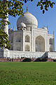 A view of Taj Mahal from the south-western side of the Garden.jpg