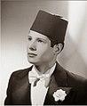 A young Salim Halali wearing a fez.jpg