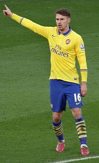 Aaron Ramsey Arsenal Away Jersey