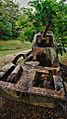 Abandoned tank outside the last Japanese Headquarters in northern Saipan.jpg