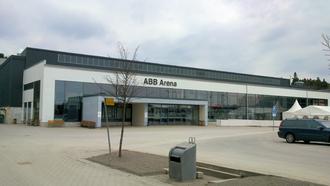 VIK Västerås HK - ABB Arena Nord in Västerås, Sweden. Home ground of VIK Västerås HK.