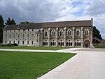 Abbaye de Cîteaux La Bibliothèque.JPG