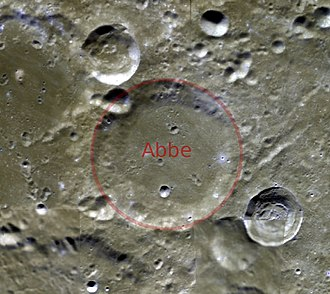Abbe (crater) - Abbe crater