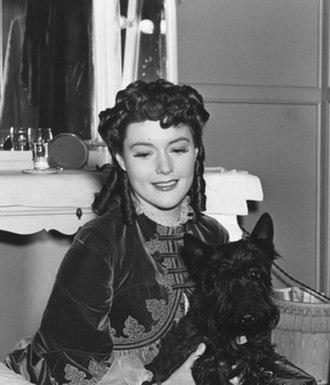 Barbara O'Neil - Barbara O'Neil on set of The Toy Wife (1938)