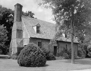 Adam Thoroughgood House - Thoroughgood House by Frances Benjamin Johnston