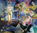 Adam and Eve by Y. Annenkov (1913, GTG).jpg