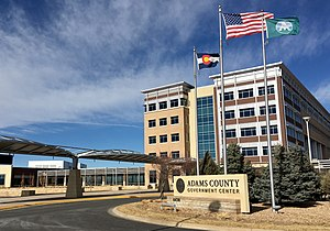 Adams County Government Center in Brighton