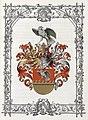 Adelsdiplom - Prawdik von Mährau 1897 - Wappen.jpg