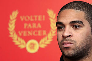 Adriano (footballer, born 1982) - Adriano in 2009