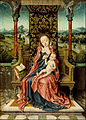 Aelbrecht Bouts - Madonna and Child Enthroned - Google Art Project.jpg