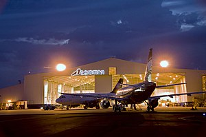 Aveos Fleet Performance - Aeroman hangar in El Salvador
