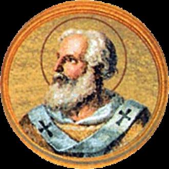 Pope Agapetus I - Image: Agapito I papa