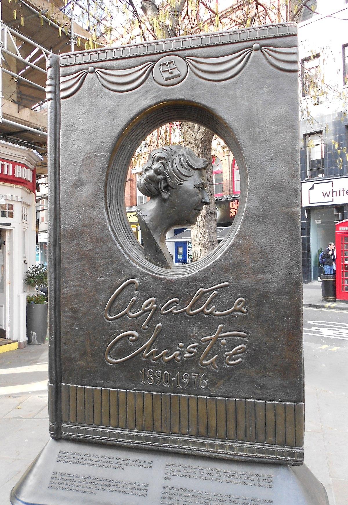 Agatha Christie Memorial - Wikipedia