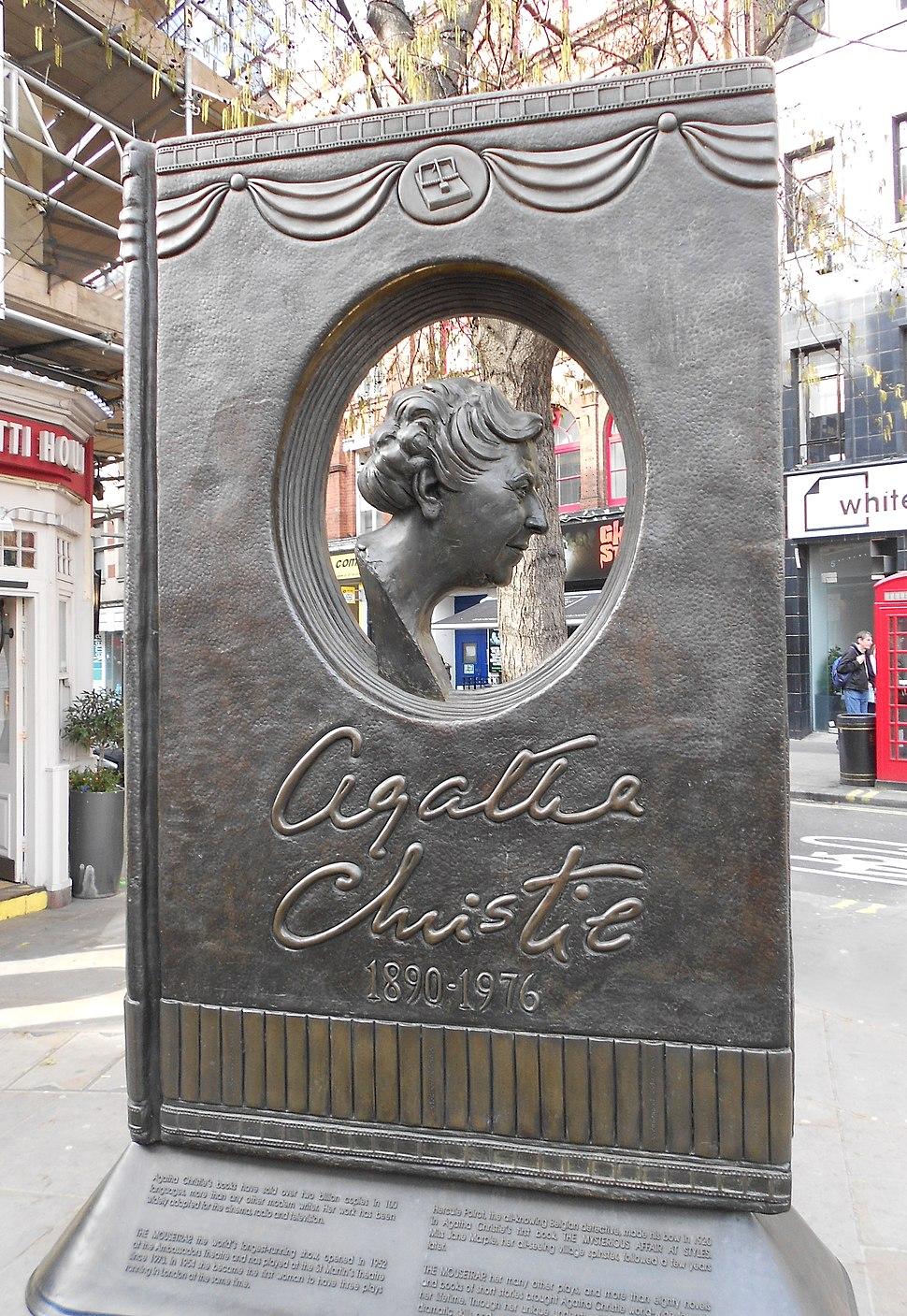 Agatha Christie Memorial (cropped)