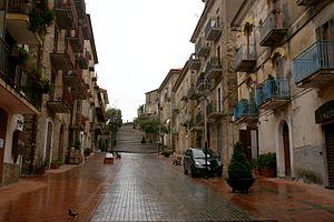 Agropoli - Image: Agropoli via f patella