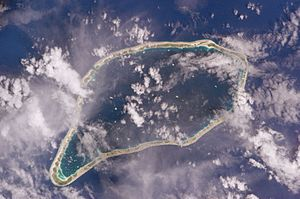 Ahe - NASA picture of Ahe Atoll