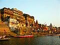 Ahilya Ghat by the Ganges, Varanasi.jpg