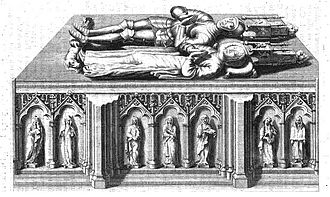 Yolande Palaeologina of Montferrat - Tomb of Aimone and Yolande
