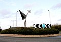 Airport Roundabout, Port Road, Cardiff - geograph.org.uk - 286103.jpg