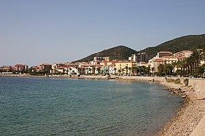 Strandpromenade von Ajaccio
